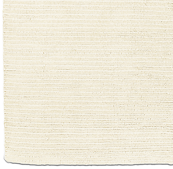 Textura Stripe Wool Rug Swatch - Cream