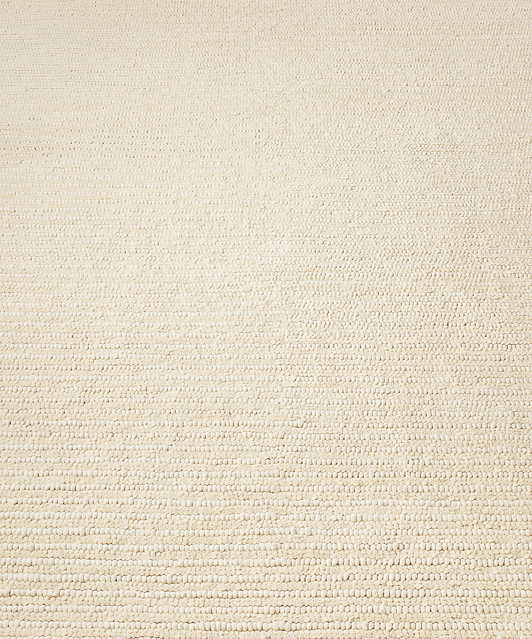 Textura Stripe Wool Rug - Cream