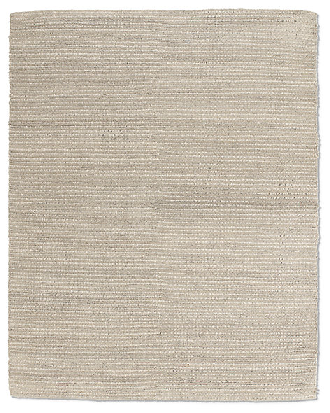 Textura Stripe Wool Rug - Heather Grey