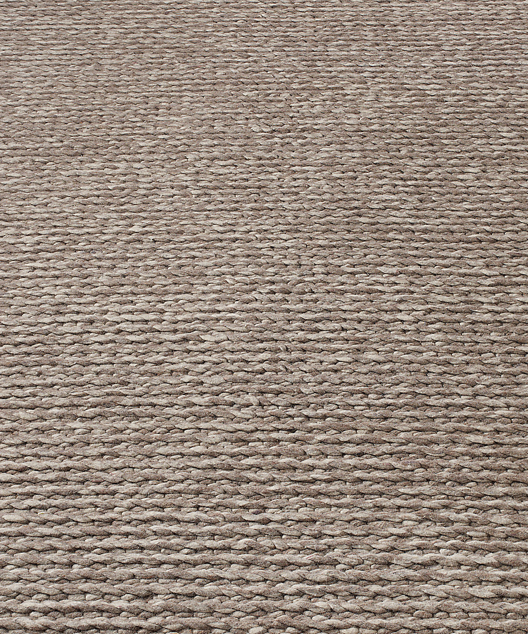 Textura Twist Wool Rug - Heather Grey