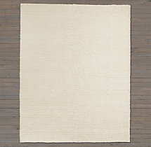 Textura Twist Wool Rug Swatch - Cream