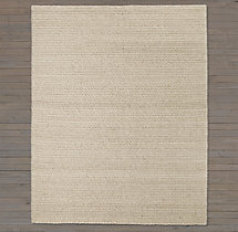 Textura Twist Wool Rug Swatch - Oatmeal
