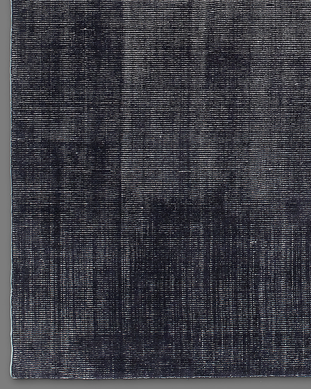 Distressed Wool Rug Navy