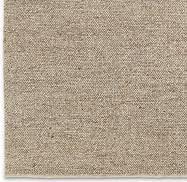 Textura Plaited Wool Rug Swatch - Marled