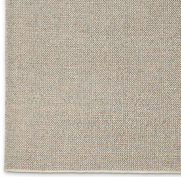 Textura Plaited Wool Rug Swatch - Oatmeal