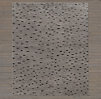 Naturale Ribbed Wool Rug Swatch - Charcoal