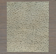 Naturale Ribbed Wool Rug Swatch - Grey