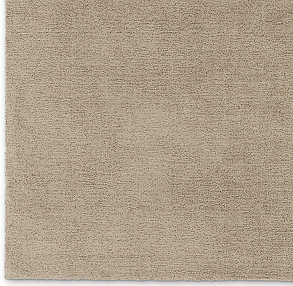 Luxe Heathered Wool Rug Swatch - Heathered Grey