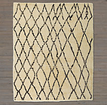 Talaa Rug Swatch - Cream