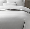 Italian Tipped Satin Stitch Duvet Cover