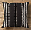 Moroccan Atlas Stripe Pillow Cover