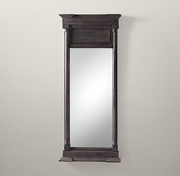 Trumeau Mirrors - Black