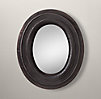 Oval Mirror - Black