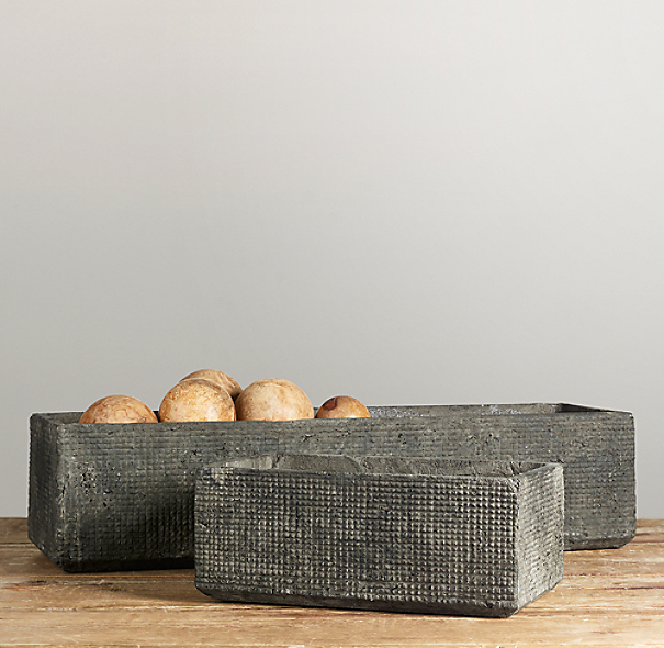 Sculptural Stone Vessel Trough Collection