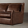 Belgian Wingback Leather Sofas