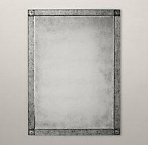 Palazzo Antiqued Glass Mirror