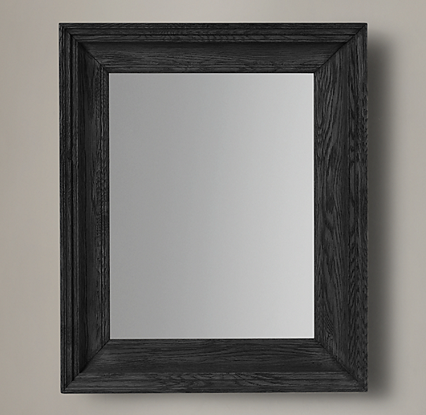 Marseilles Mirror Black