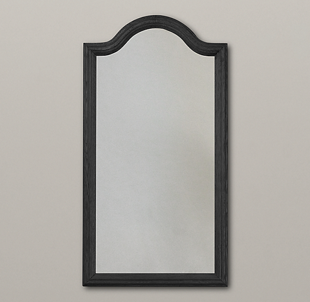 Whitby Mirror - Black