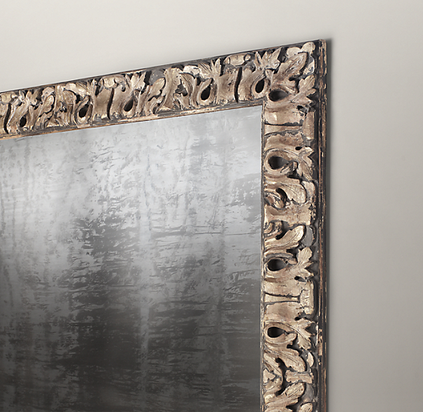 Bellamy Hand-Carved Leaner Mirror