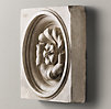 Architectural Plaster Fragments - Pomegranate Rosette