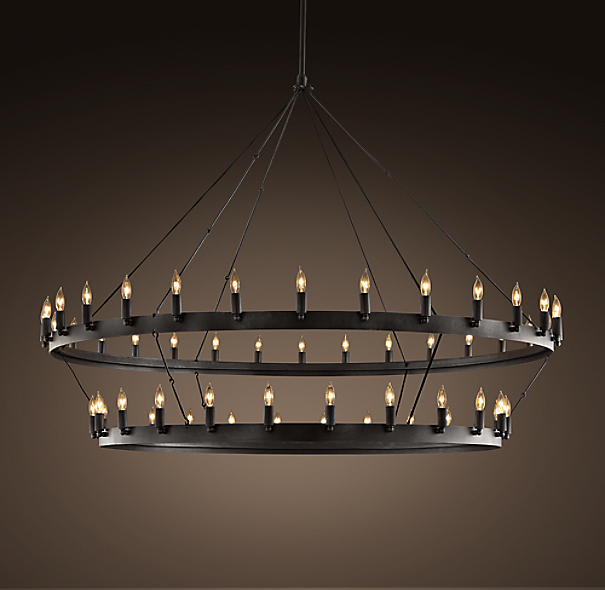 Camino Two-Tier Chandelier Large