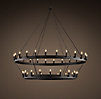 Camino Two-Tier Chandelier Medium