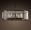 Riveted Mesh Chandelier Large