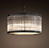1920s Essex Crystal Rod Chandelier Medium
