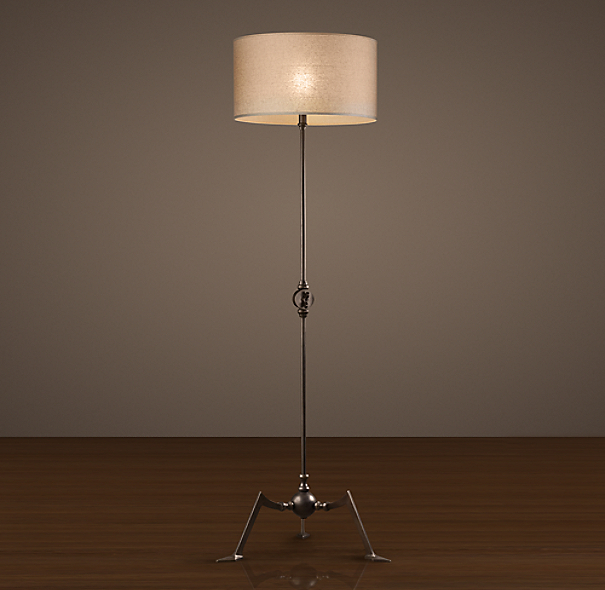 French Spider-Leg Floor Lamp