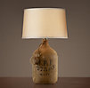 French Olive Jar Table Lamp