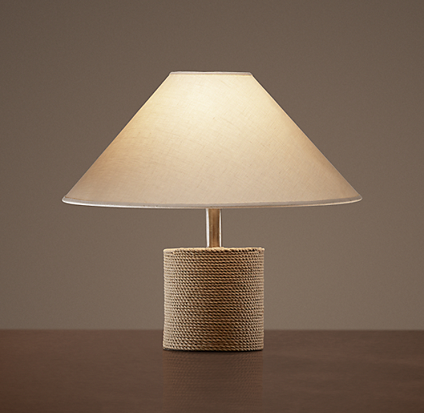 Jute Mariner's Accent Lamp