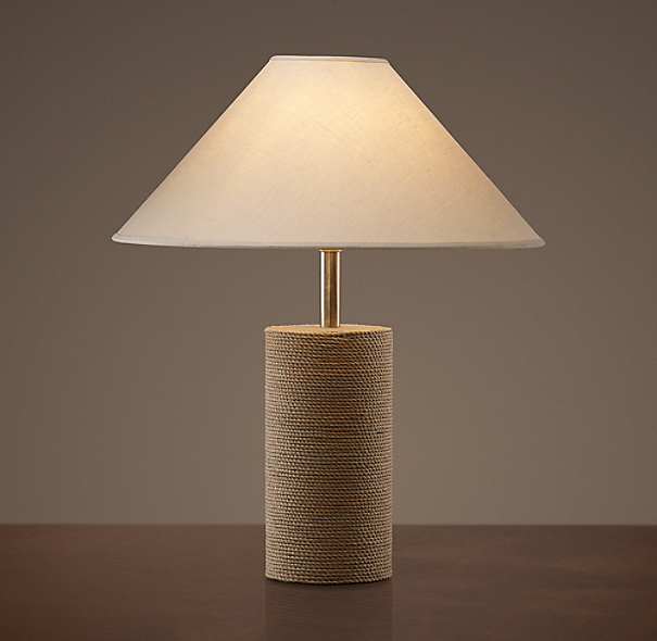Jute Mariner's Table Lamp