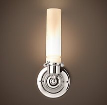 Edison Milk Glass Sconce