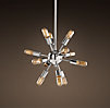 Sputnik Filament Chandelier Polished Nickel Small
