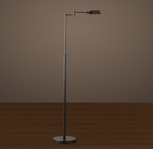 Metiér Task Floor Lamp Bronze