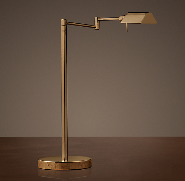 Metiér Task Table Lamp Vintage Brass