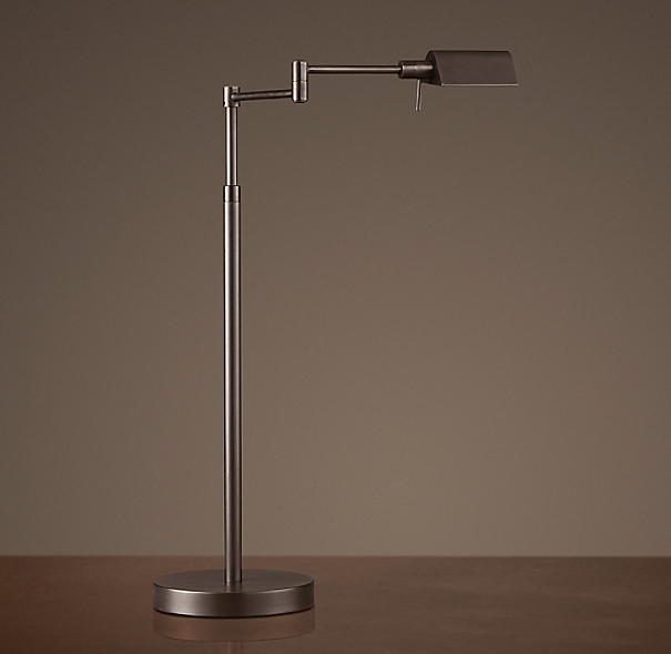 Metiér Task Table Lamp Bronze