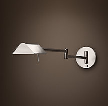 Metiér Sconce Polished Nickel