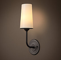 Modern Taper Glass Sconce