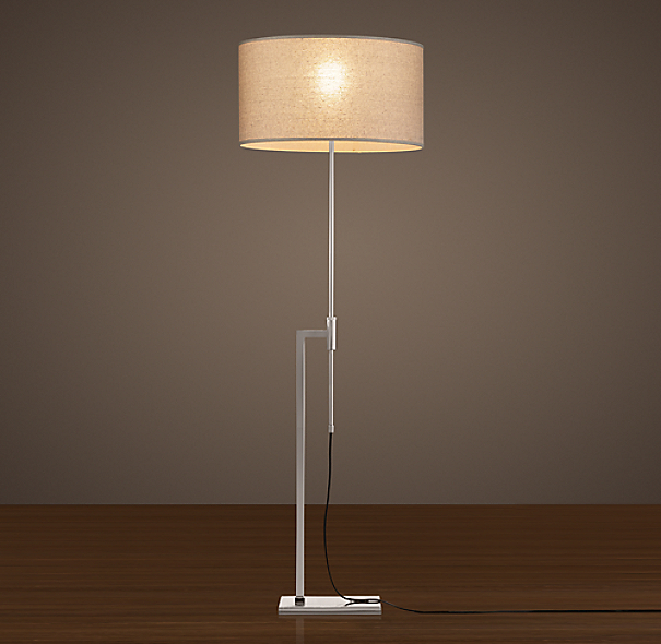 Menlo Floor Lamp Polished Nickel