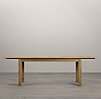 Drifted Oak Parson's Extension Tables