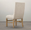 Nailhead Upholstered Side Chair