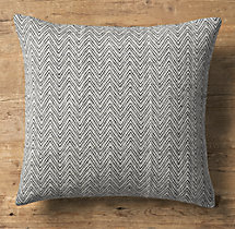 Chevron Tapestry Weave Pillow