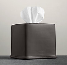 Flatiron Union Stoneware - Tissue Box - Charcoal