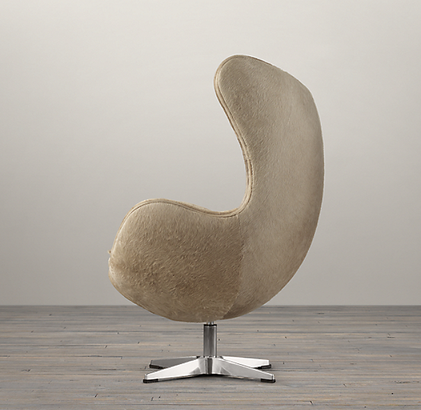 1950s Copenhagen Chair Hide-on-Hide