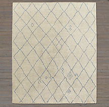 Miya Rug Swatch - Light Grey