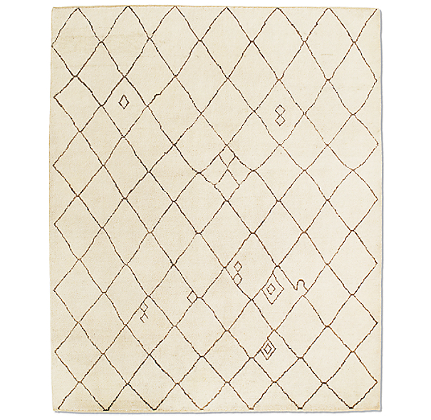 Miya Rug Swatch - Cream