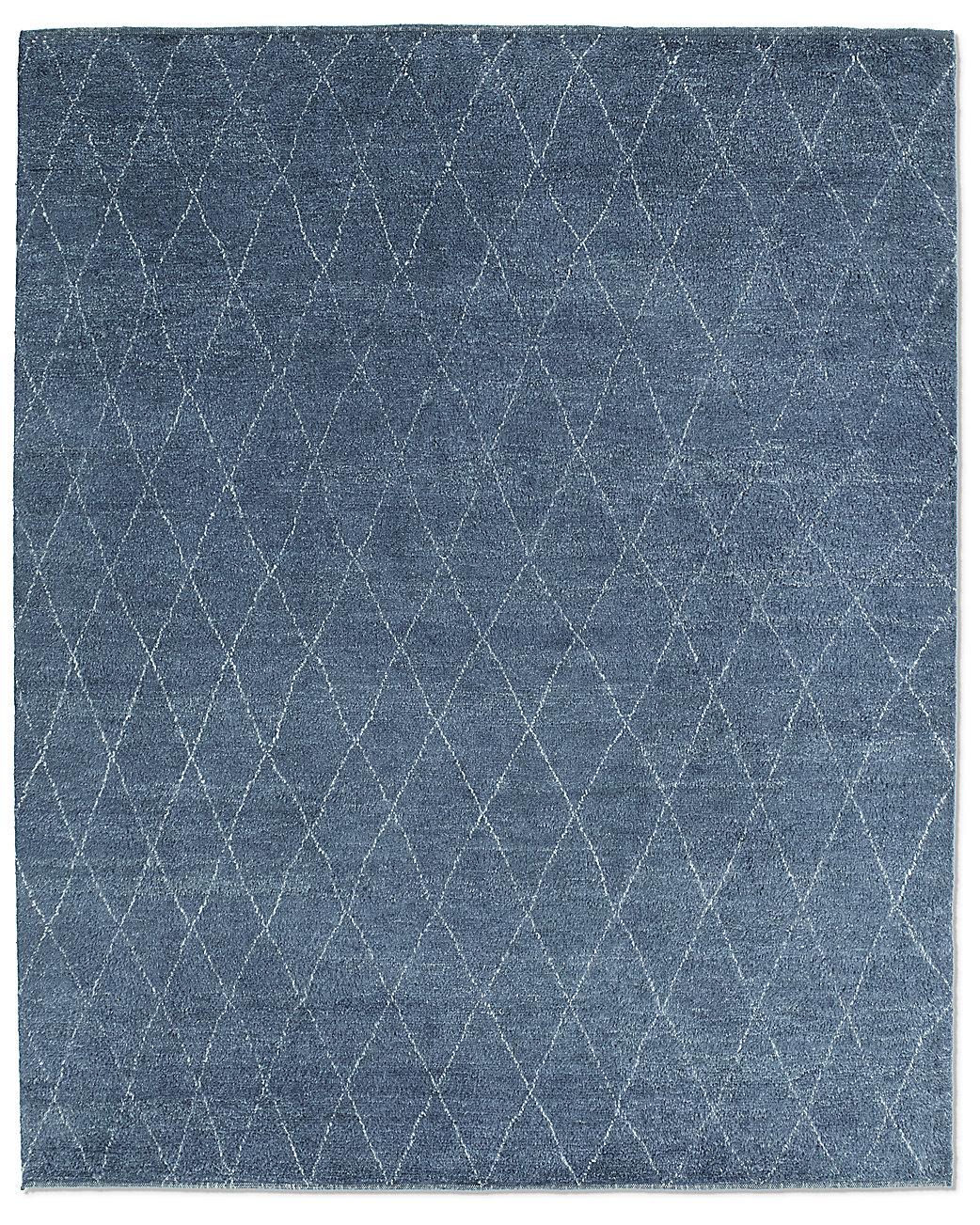Dara rug navy for Restoration hardware rugs on sale