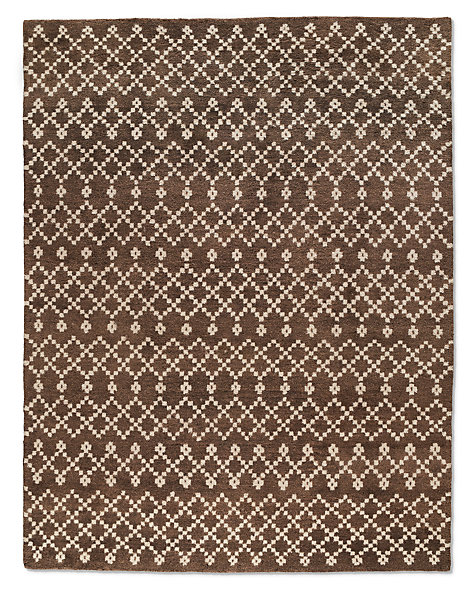 Tazza Rug - Chocolate