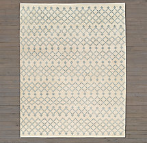 Tazza Rug Swatch - Cream